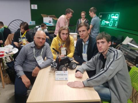 Hackathon It-Scouts з робототехніки «Smart-City»