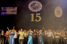 Урочисте закриття Міжнародного фестивалю СТЕМів «Студентські жарти-2013»
