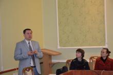 Планова зустріч голови профкому студентів, аспірантів та докторантів ЗНТУ Андрія Іванченка зі студентським активом БДПУ