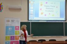 Презентація бізнес-інкубатора «Happy Farm»